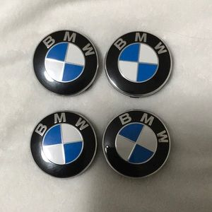 """Authentic BMW """"wheel caps"""""""